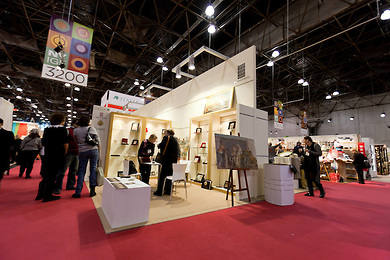 Italian Trade Commision and Regione Umbria Exhibit at the New York International Gift Fair.