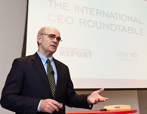 Kevin Logan, HSBC U.S. Chief Economist photographed by Jeffrey Holmes, event photographer New York