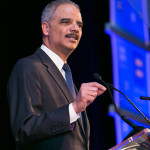 Eric Holder by event photographer Jeffrey Holmes
