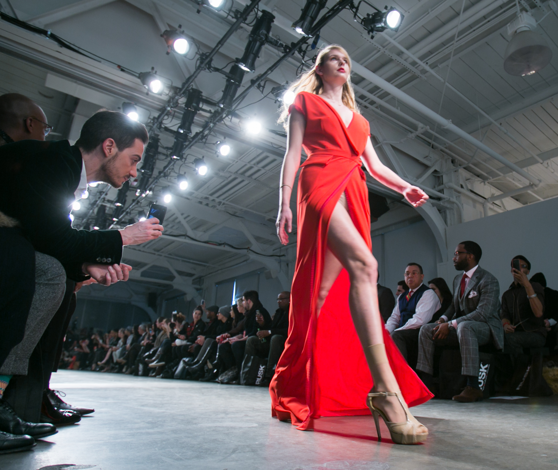 Nolcha Fashion Week in New York for 2014 Fall/Winter by Jeffrey Holmes, Fashion Week New York photographer
